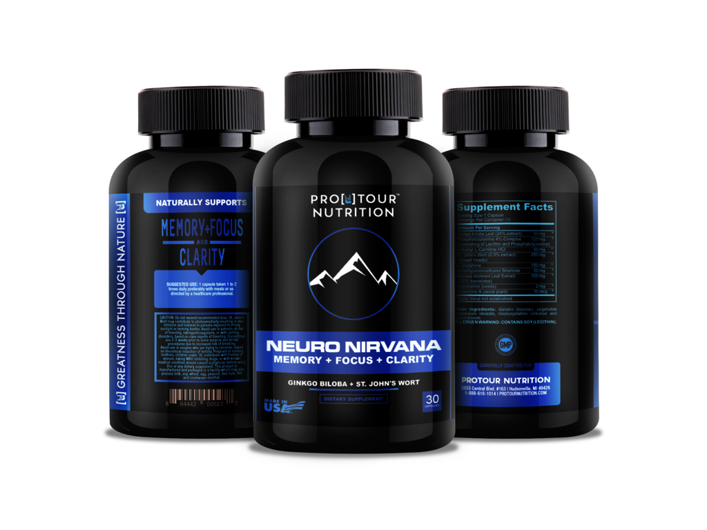 Nirvana transparent small. Neuro brain support for