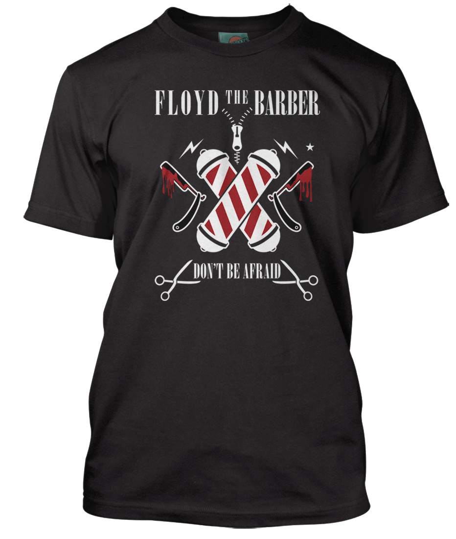 Nirvana transparent small. Inspired floyd the barber
