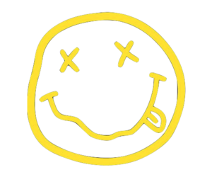 Nirvana transparent smiley. Image about in by