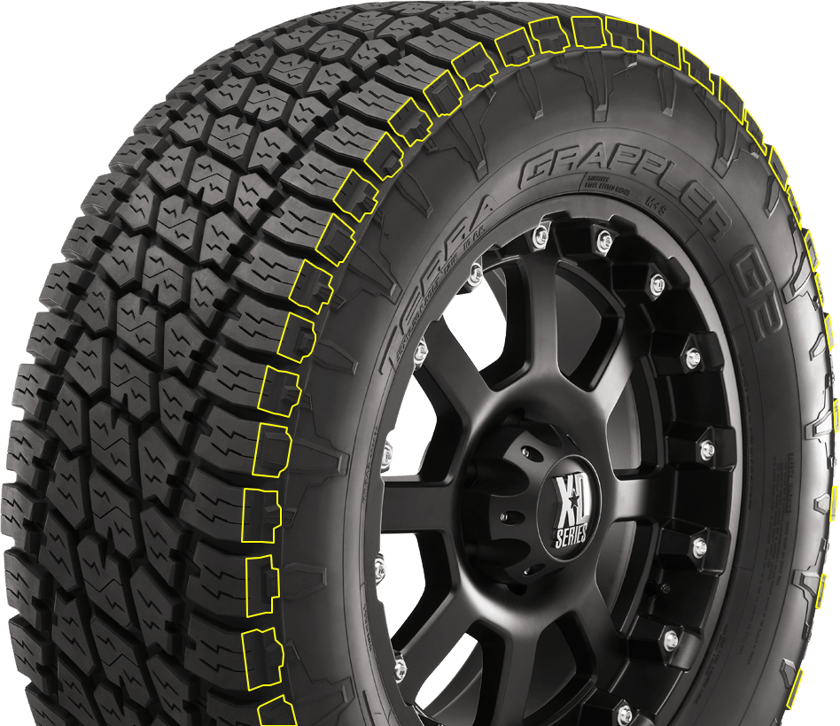 Nitto tires logo png. Terra grappler g all