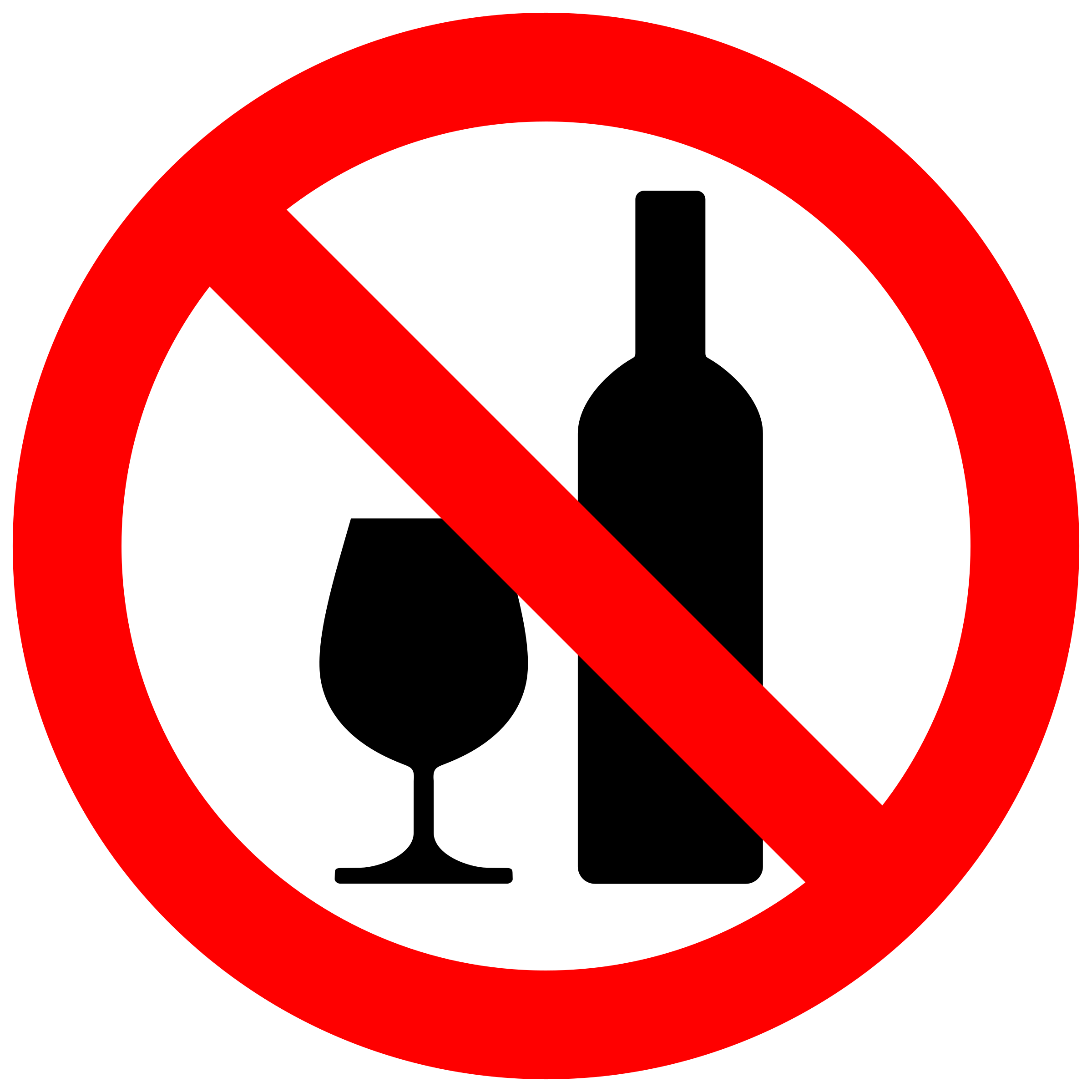 No alcohol png. Don t drink tomar