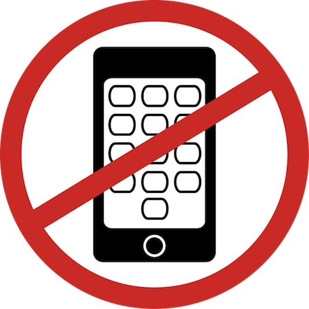 No phone png. Download cell during exam