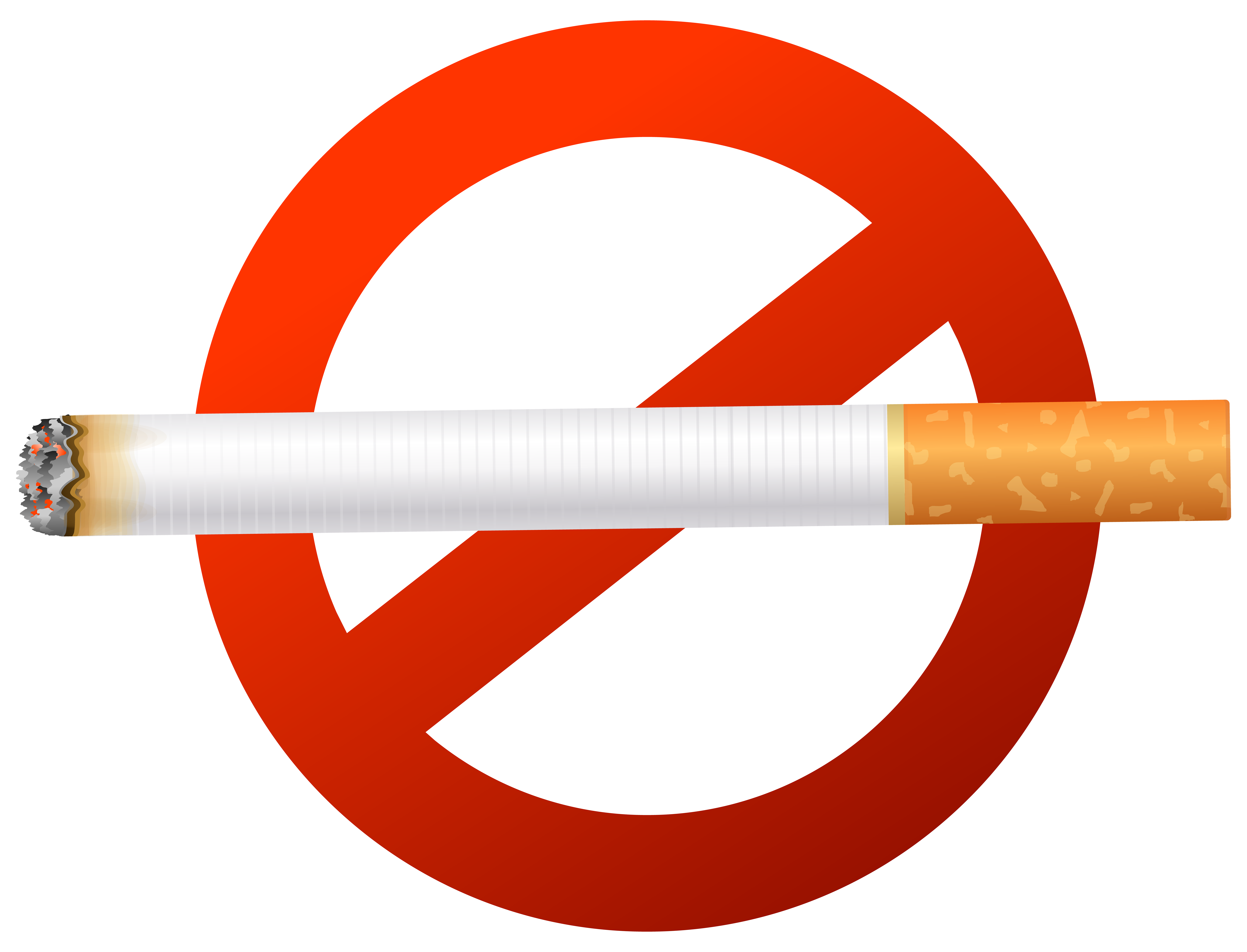 No clipart png. Smoking sign clip art