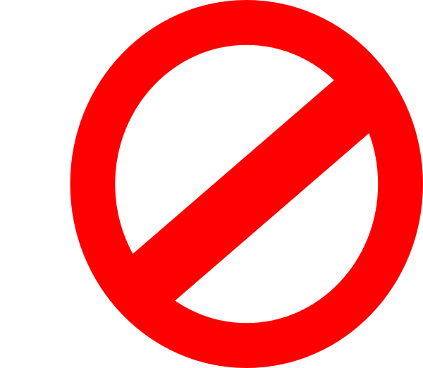 international no symbol png