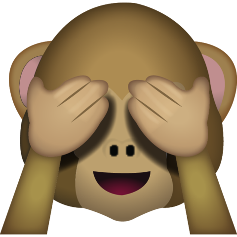No emoji png. Download see evil monkey