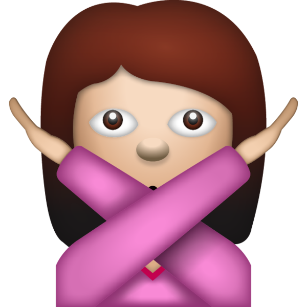 No emoji png. Download woman saying island