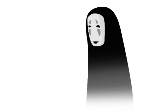 No face png. Spirited away transparent dollcunt