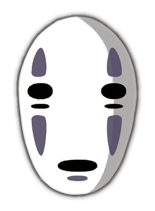 No face png. Image noface mask white