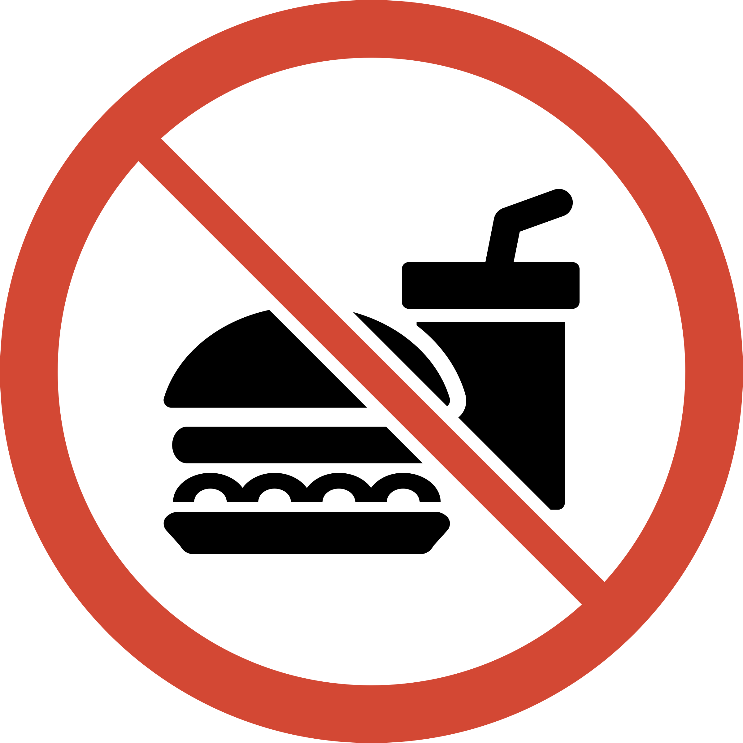 No food or drink png. Sign icons free and