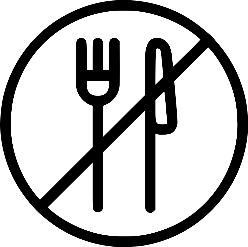 No food png. Eating forbidden svg icon