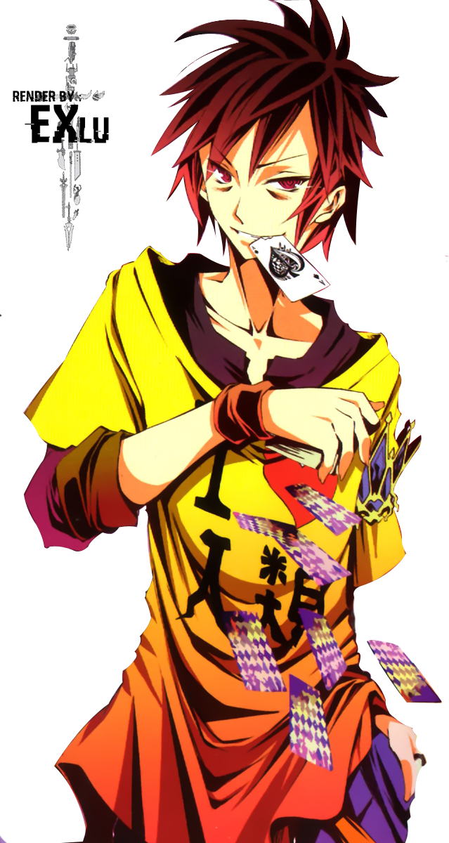 No game no life sora png. Render by exlu on
