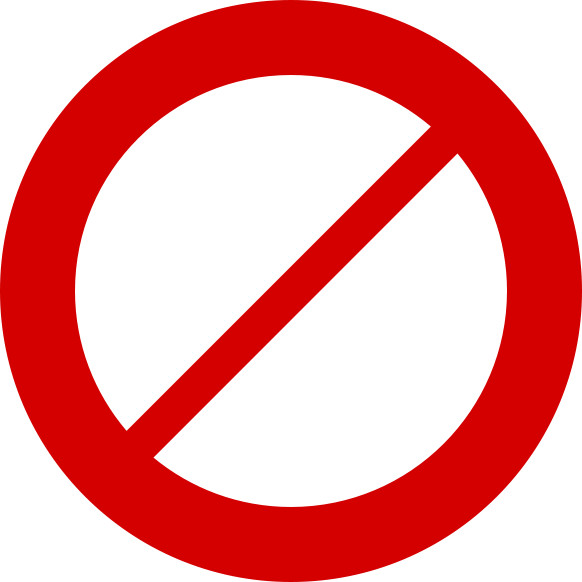No icon png. Image icons vector free
