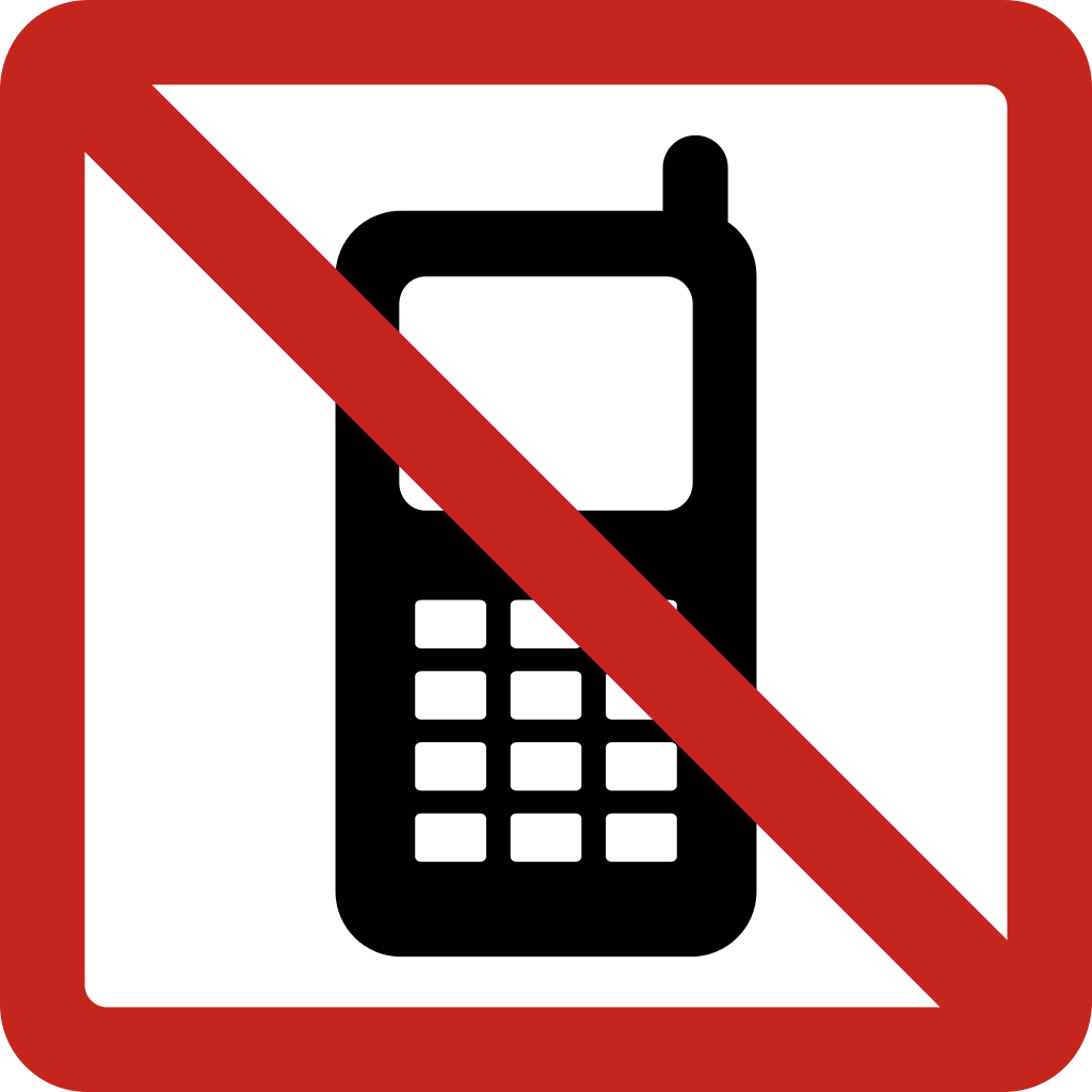 No phone png. File cellphone svg wikimedia