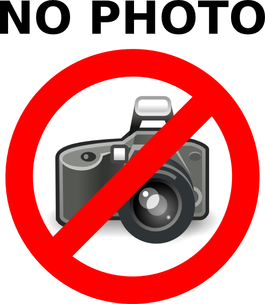 no photography png