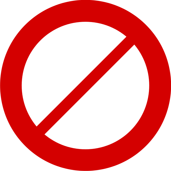 No! png icon. File no red svg