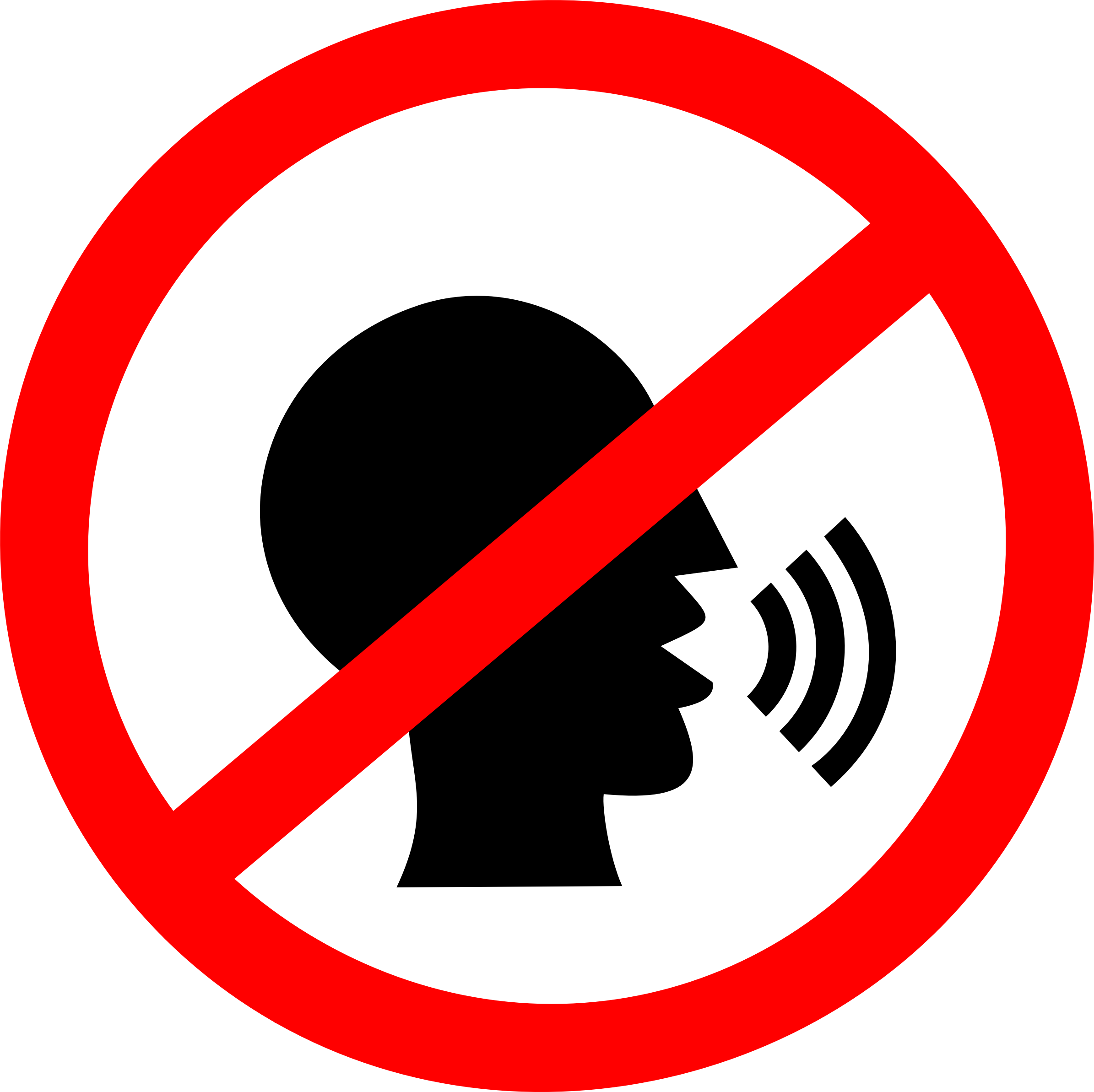 No png icon. Talking sign icons free