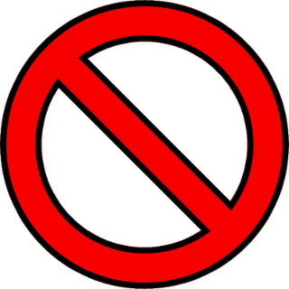 No! png transparent. Image delete once upon