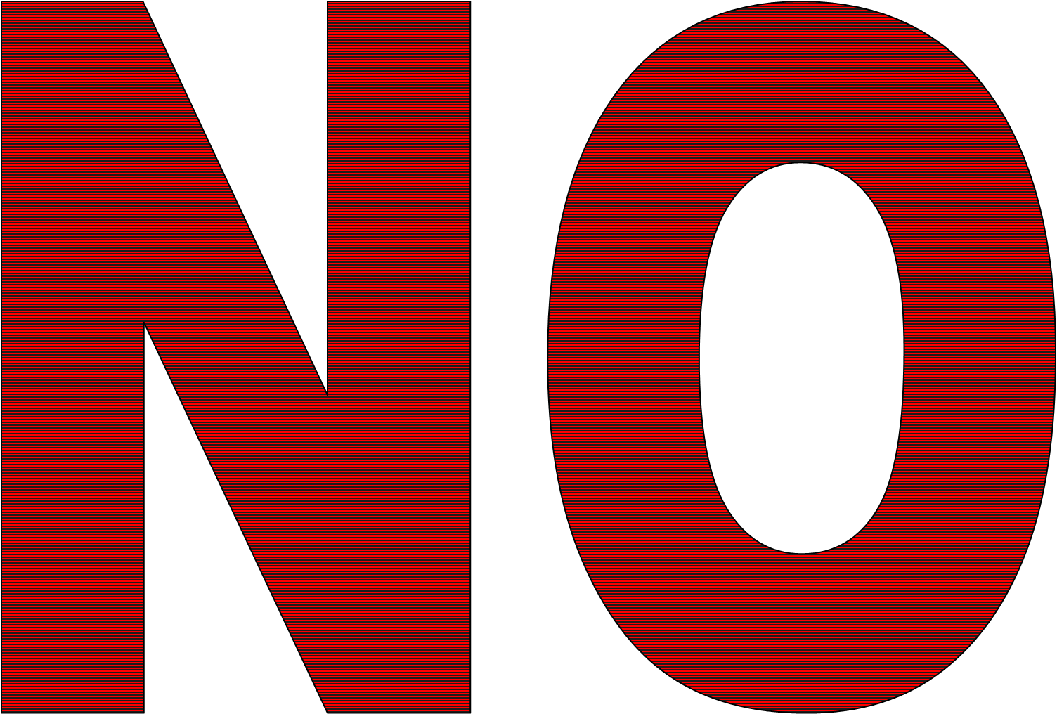 No! png word. No turn the page