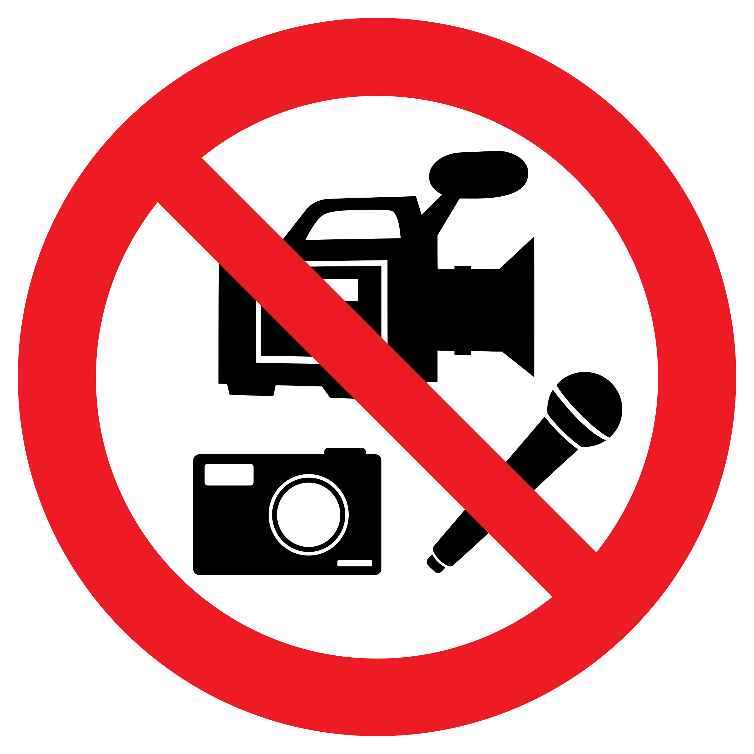 No recording png. Media allowed icons free