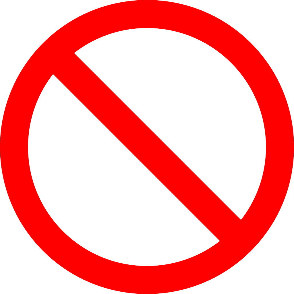 No sign png. File svg wikimedia commons