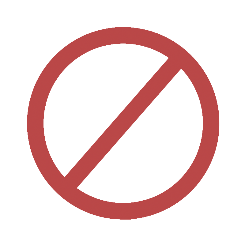 No symbol transparent png. Icon motion graphic stock