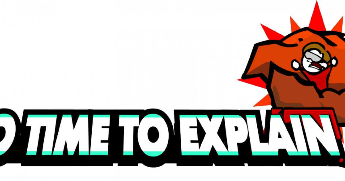 Coming ps after k. No time to explain logo png clipart transparent