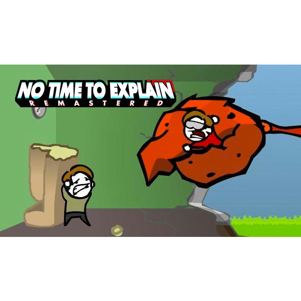 No time to explain logo png. Remastered instant delivery steam