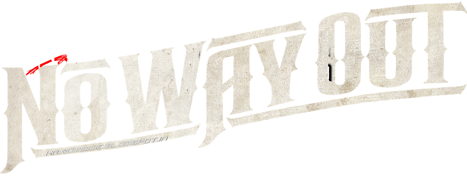 No way out logo png. Hariomwwe blogspot com official