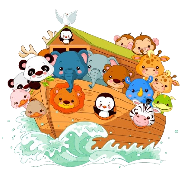 Noah ark clipart leaving. S child nursery pictures