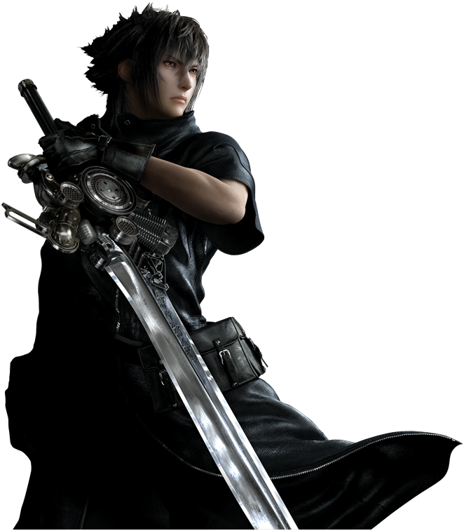 Noctis transparent cloud strife
