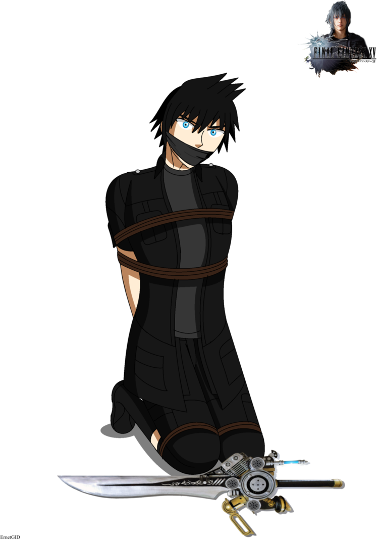 Noctis transparent anime. Nabbed by ming gid