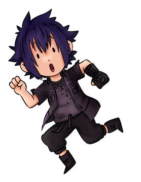 Noctis transparent anime style. Nicotopin on final fantasy