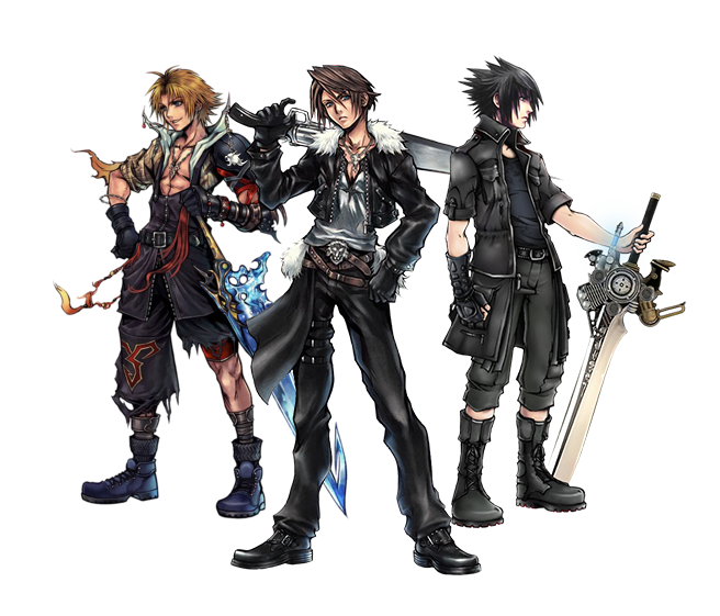 Noctis transparent cloud squall lightning. Top best and worst