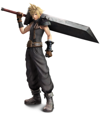 Noctis transparent cloud strife. Dissidia final fantasy characters
