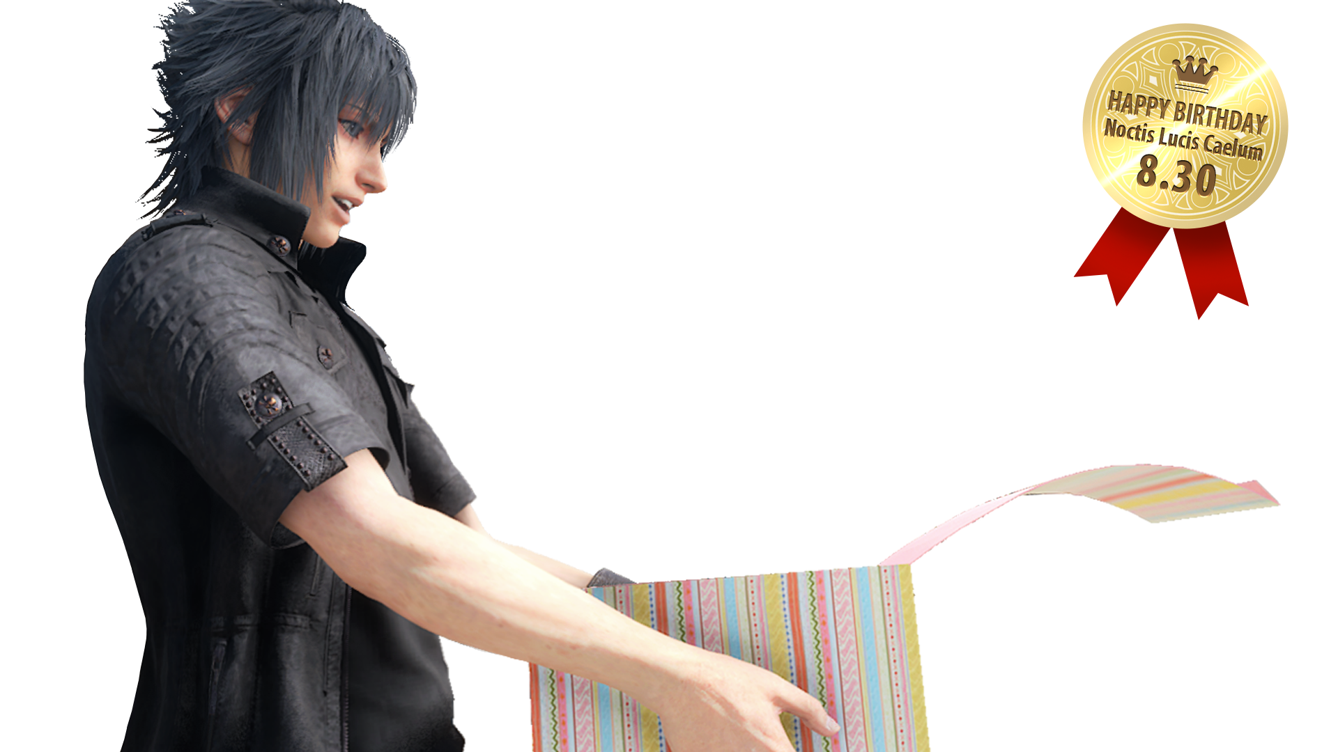 Noctis transparent pixel art. In the news archive