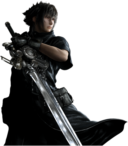 Noctis transparent engine blade. Check out this final