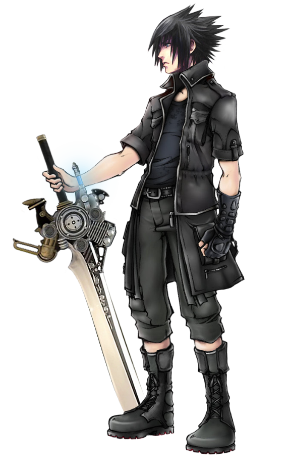 Noctis transparent ff dissidia. Lucis caelum by realzeles