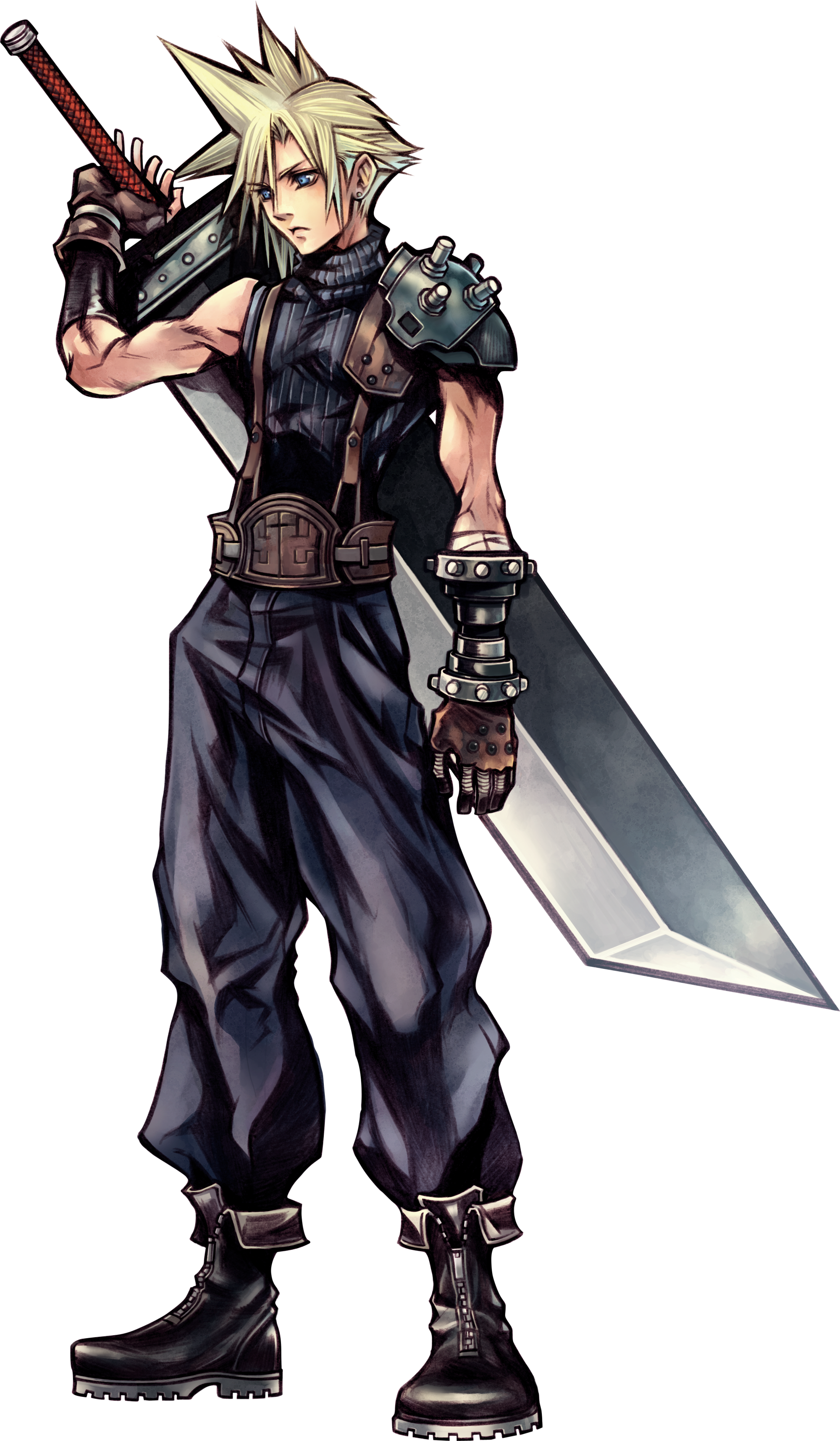 Noctis transparent cloud strife. Category characters in dissidia