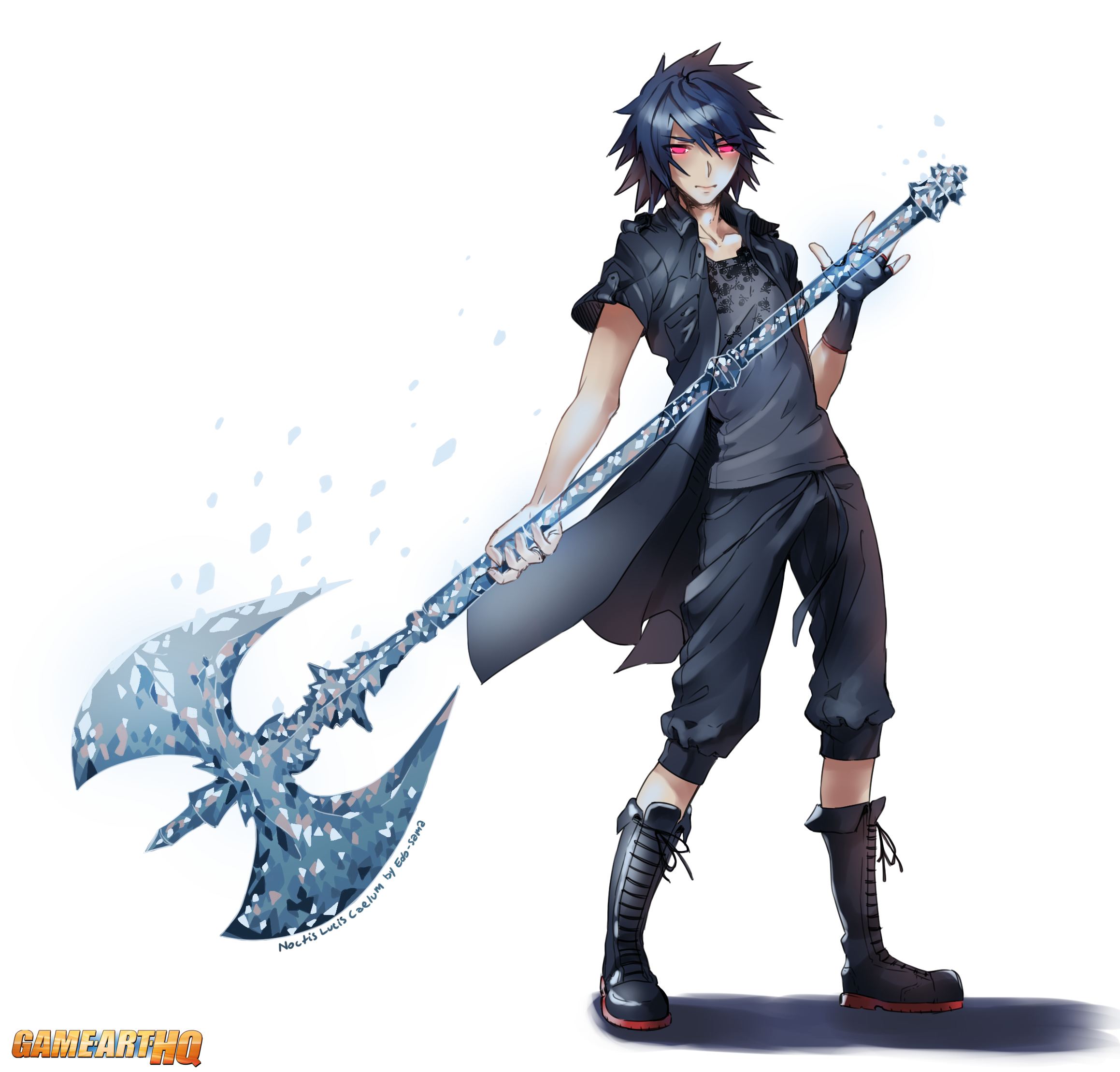 Noctis transparent dissidia ps4. From final fantasy game
