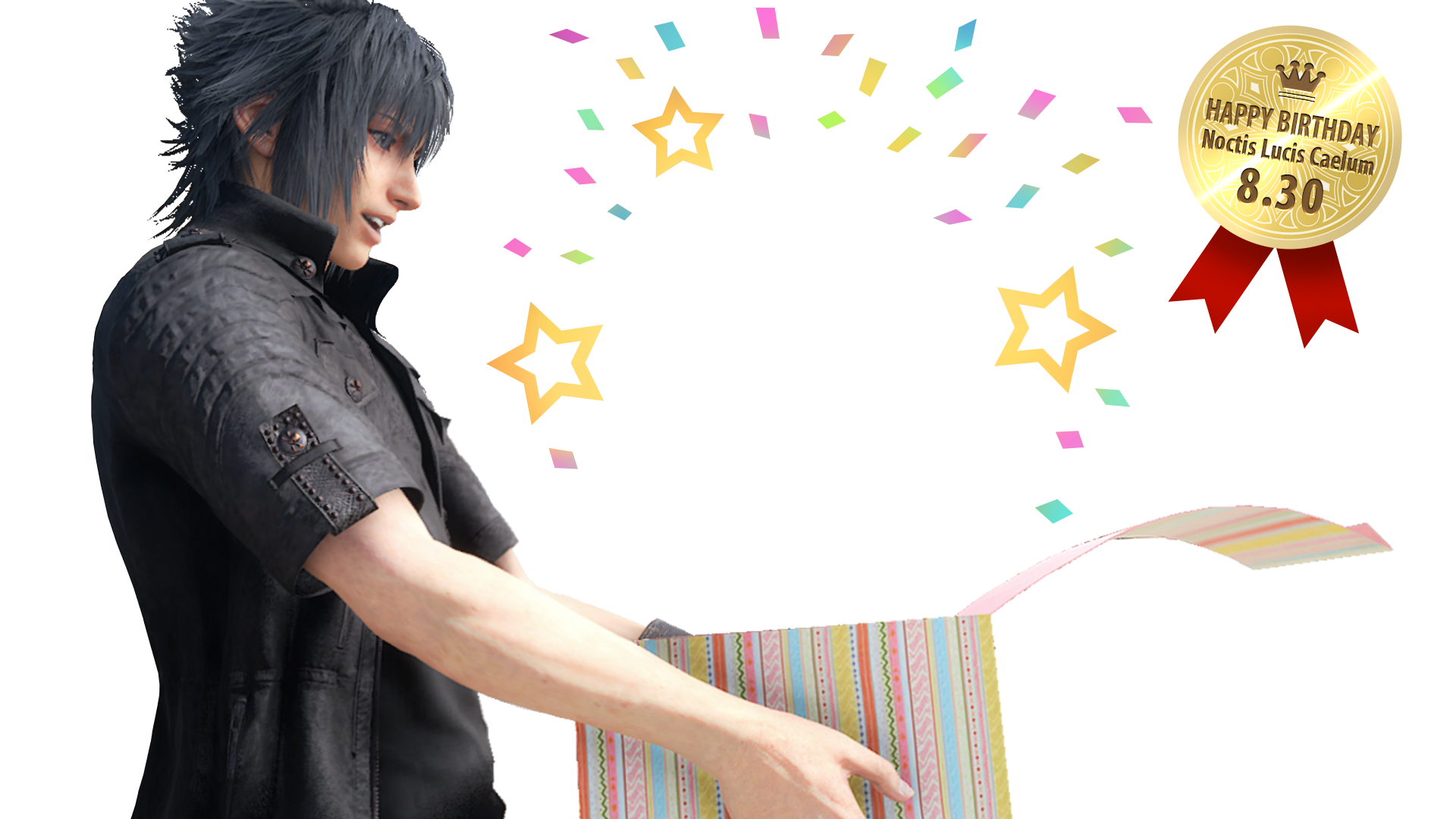 Noctis transparent ffxiv. In the news page