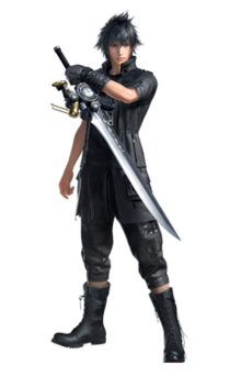 noctis transparent kingdom hearts