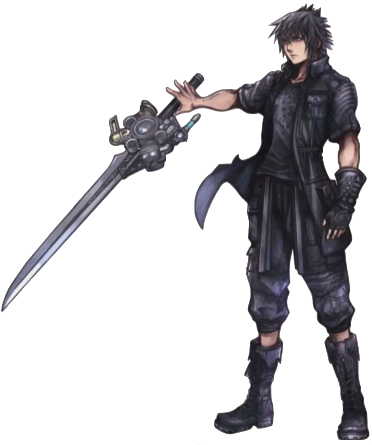 noctis transparent cloud squall lightning