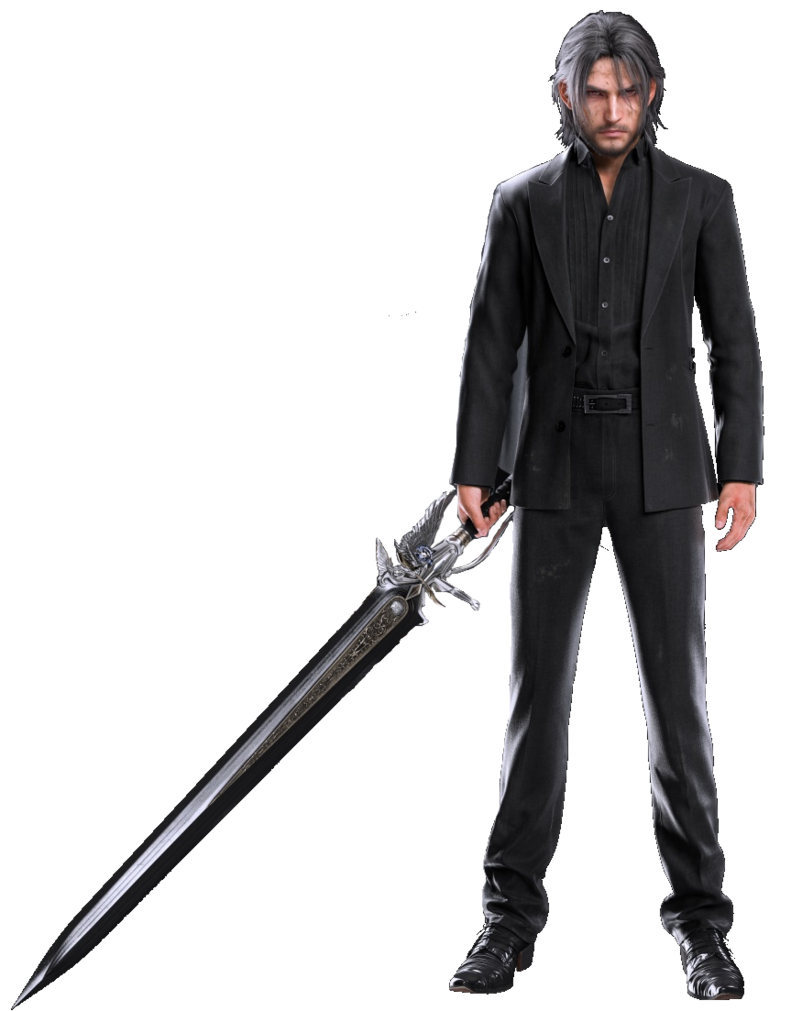 Noctis transparent formal. Takes the throne of