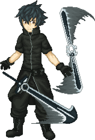 Noctis transparent pixel art. Working by t free