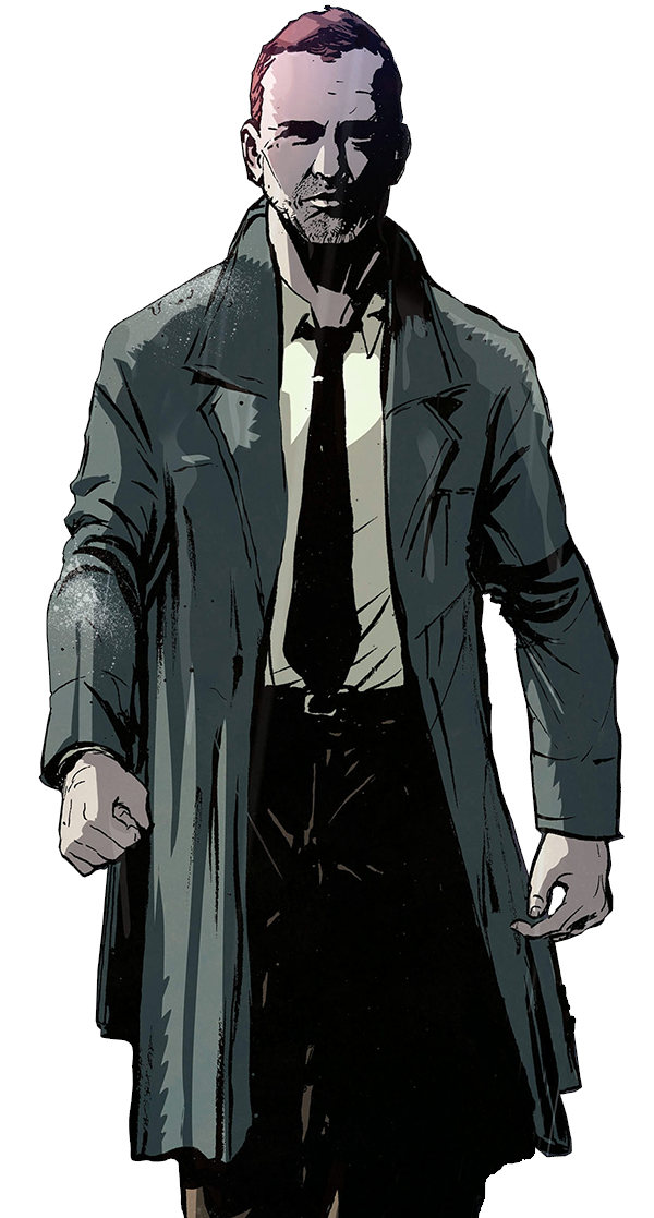 Noir drawing detective comics. The locksmith a neo