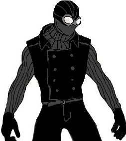Noir drawing spiderman. Collection of spider