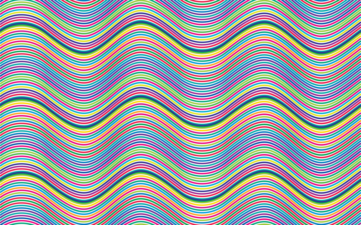 Noise vector background pattern. Computer icons wave sound