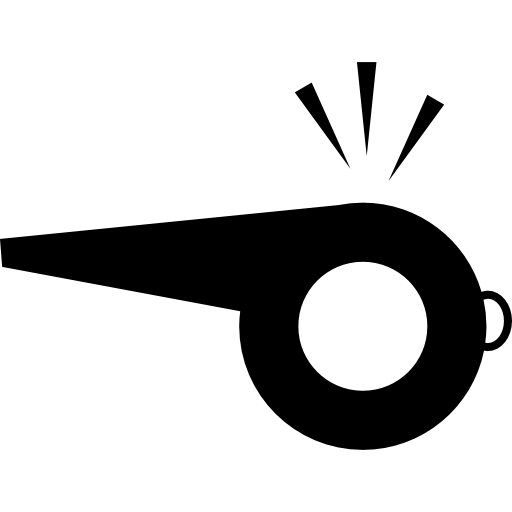 Noise vector sound symbol. Whistle making variant icons