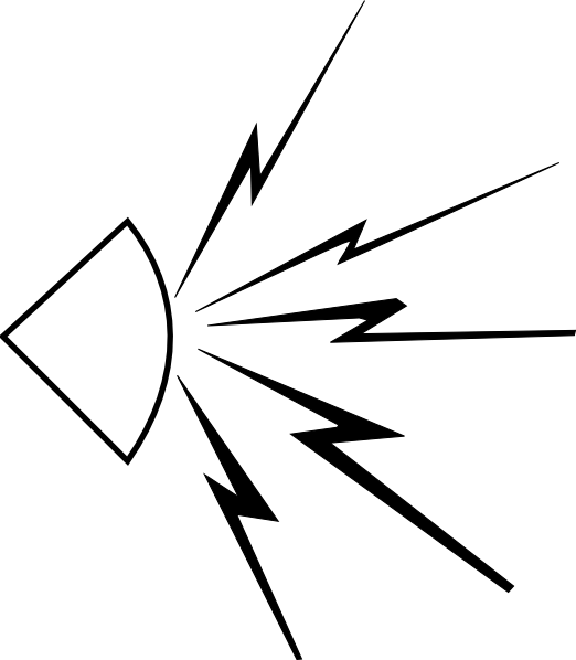 Noise vector. Audio sound clip art