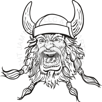 Ax drawing viking. Line at getdrawings com